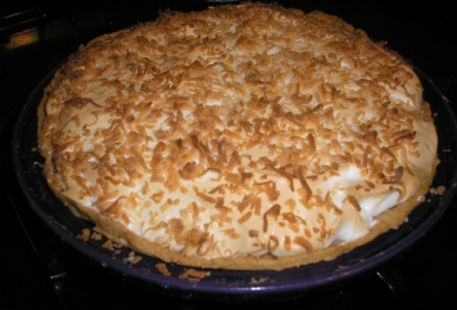 Coconut Cream Pie – Recipe